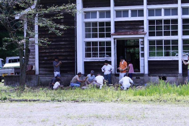 明宝歴史民俗資料館の講堂にて開催