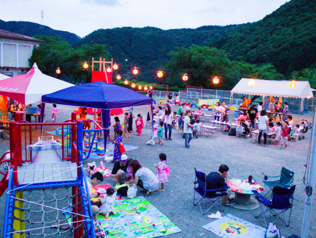 明宝保育園夏祭り!