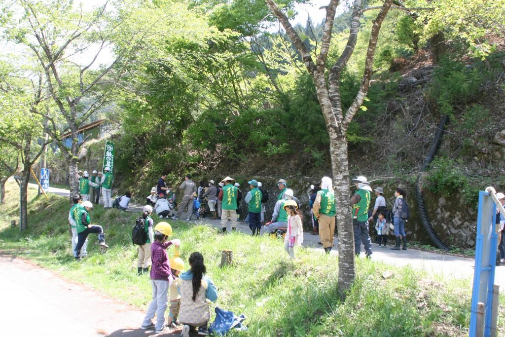 昨年度の植樹祭