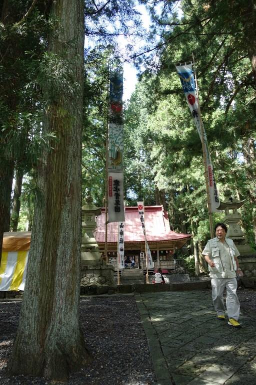 祭りが始まる前の白山神社