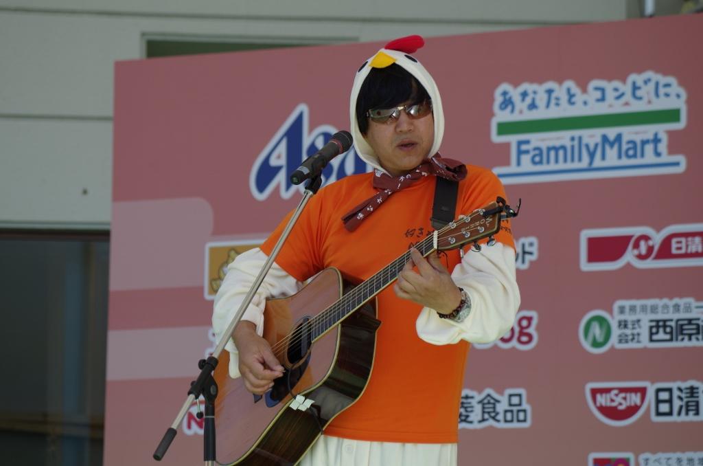 ギター演奏・マーシー!