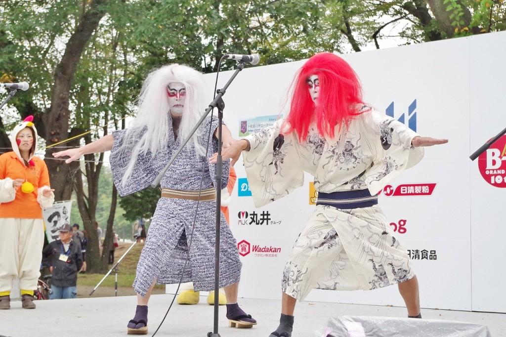 気良歌舞伎をPR!